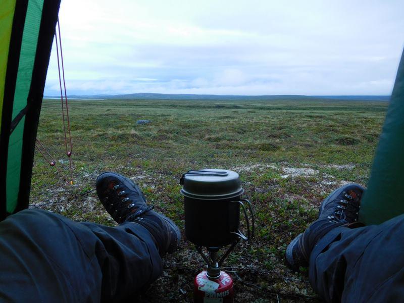 Alleine im Nirgendwo am Nordkap