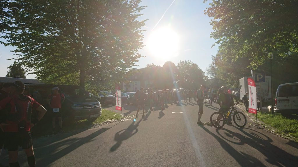 Start vor dem Schloss / TN-Limit: 100