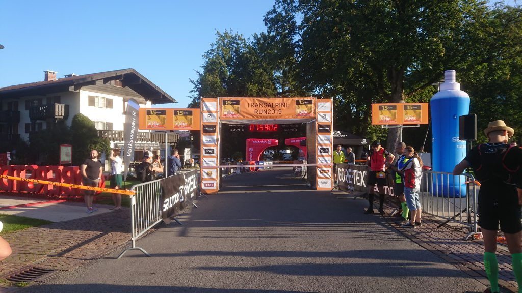 Transalpine Run 2019 - Start bei Kaiserwetter
