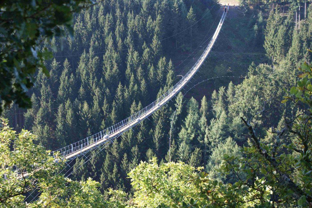 Die atemberaubende Geierlay (c)   Hängeseilbrücke Geierlay in Mörsdorf via Facebook