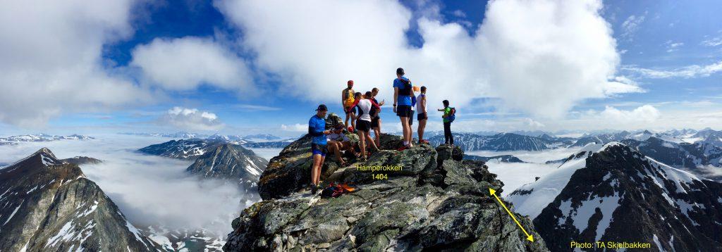 Tromsø Skyrace - Gipfel des Hamperokken (c) Tromsø Skyrace / Race Briefing 2019