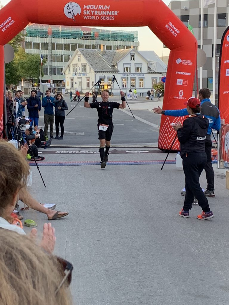 Tromsø Skyrace - Finish