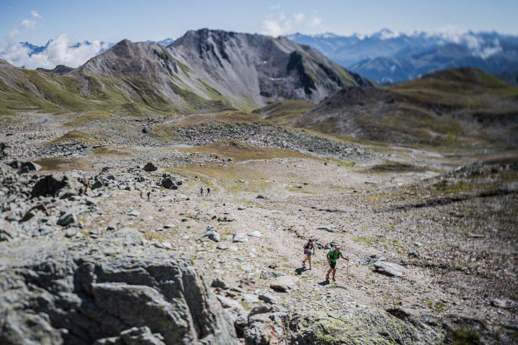 Transalpine Run 2019 - Etappe 4 bedeutet auch 20 km konstant auf über 2.000m Höhe (c) PlanB / Harald Wisthaler