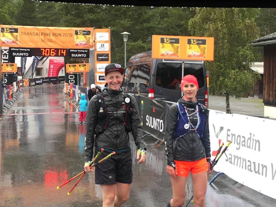 Transalpine Run 2019 - auch Regen gehört leider dazu (c) PlanB