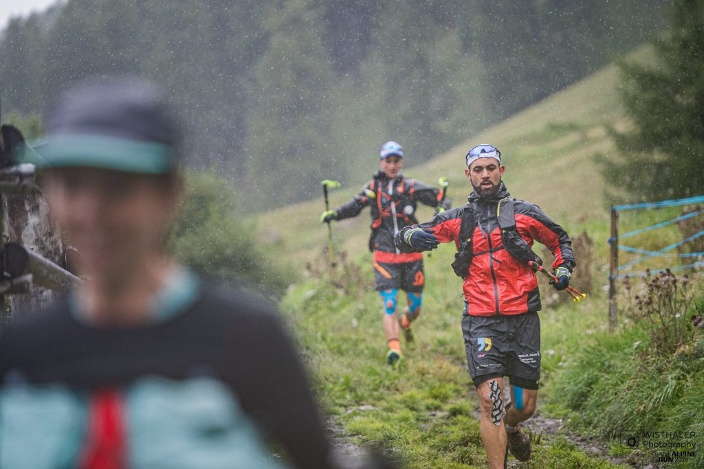 Transalpine Run 2019 - ein Regen-Inferno an Tag 7  (c) PlanB / Harald Wisthaler