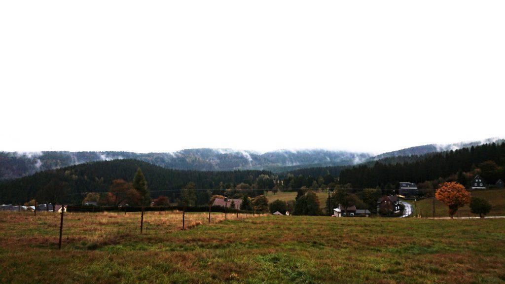 Der Rennssteig und seine Dörfer - im Regen