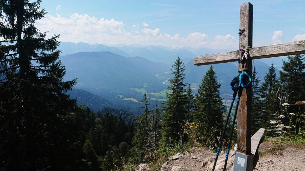 Der Grasleitenkopf auf 1433 Metern
