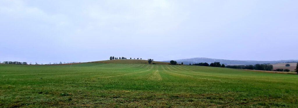 Die Oberlausitz kurz vor dem Wolkenbruch (c) M. Kosubeck / Babelsberger Trail Racing Team