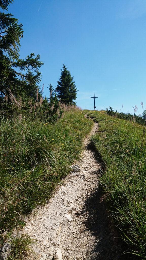 Belohnung am Ende vom Aufstieg - Ochsenkamp  auf 1594 Metern