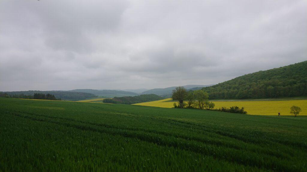 Das Weserbergland mal ohne steilen Grat