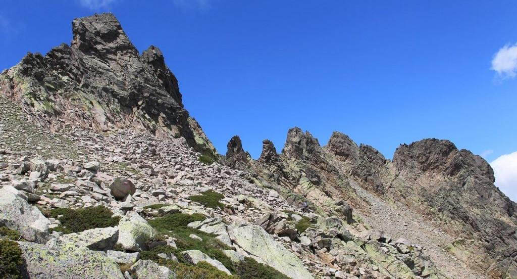 Korsika ist steil - überall (c) Restonica Trail