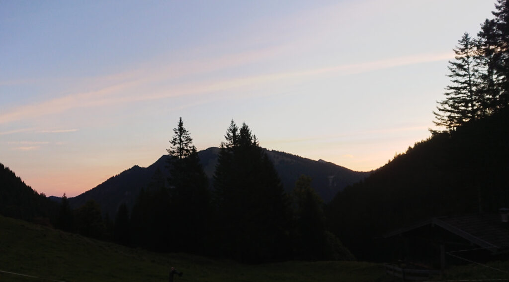 Sonnenaufgang Tag 2